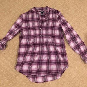 Purple flannel